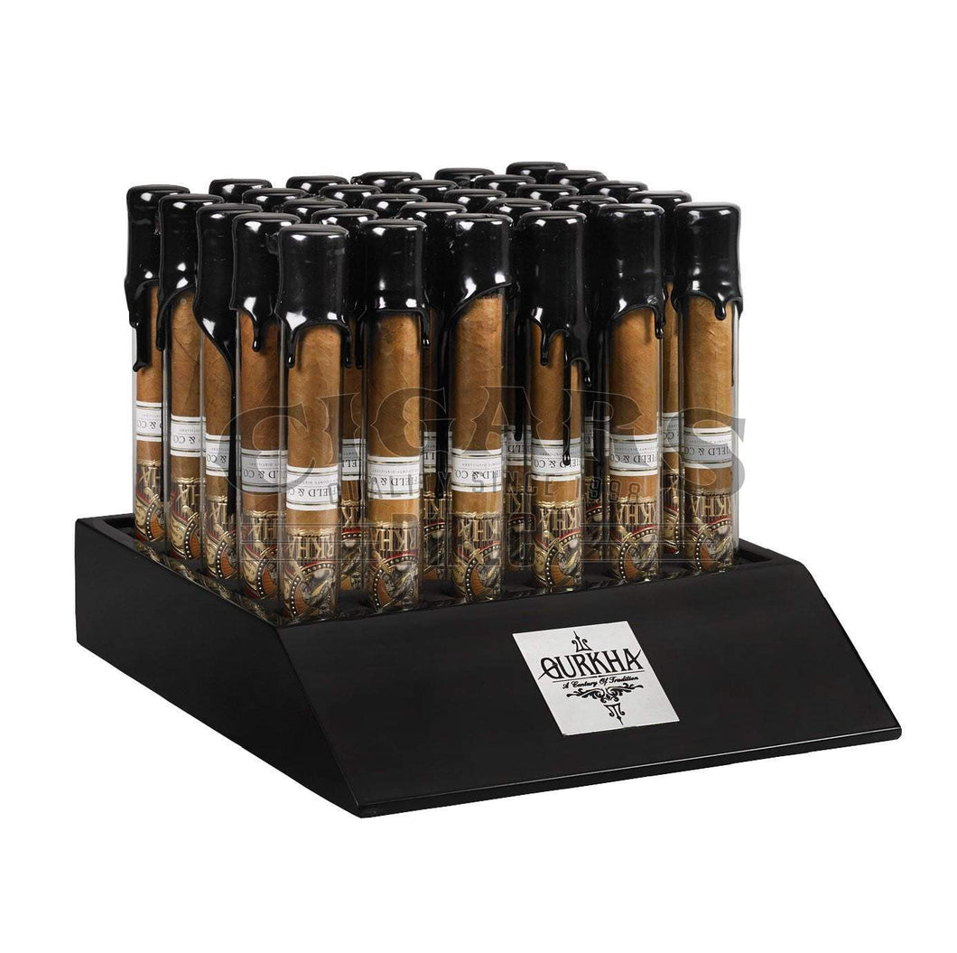Gurkha Bourbon Collection Toro Natural Tubos Display