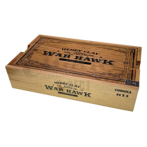 Henry Clay War Hawk Corona Box Closed