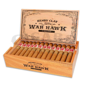 Henry Clay War Hawk Corona Box Open
