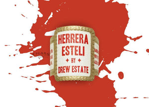 Herrera Esteli By Drew Estate Habano Piramide Fino Band