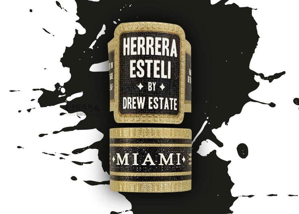 Load image into Gallery viewer, Herrera Esteli By Drew Estate Miami Piramide Fino Band