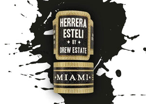 Herrera Esteli By Drew Estate Miami Short Corona Gorda Band