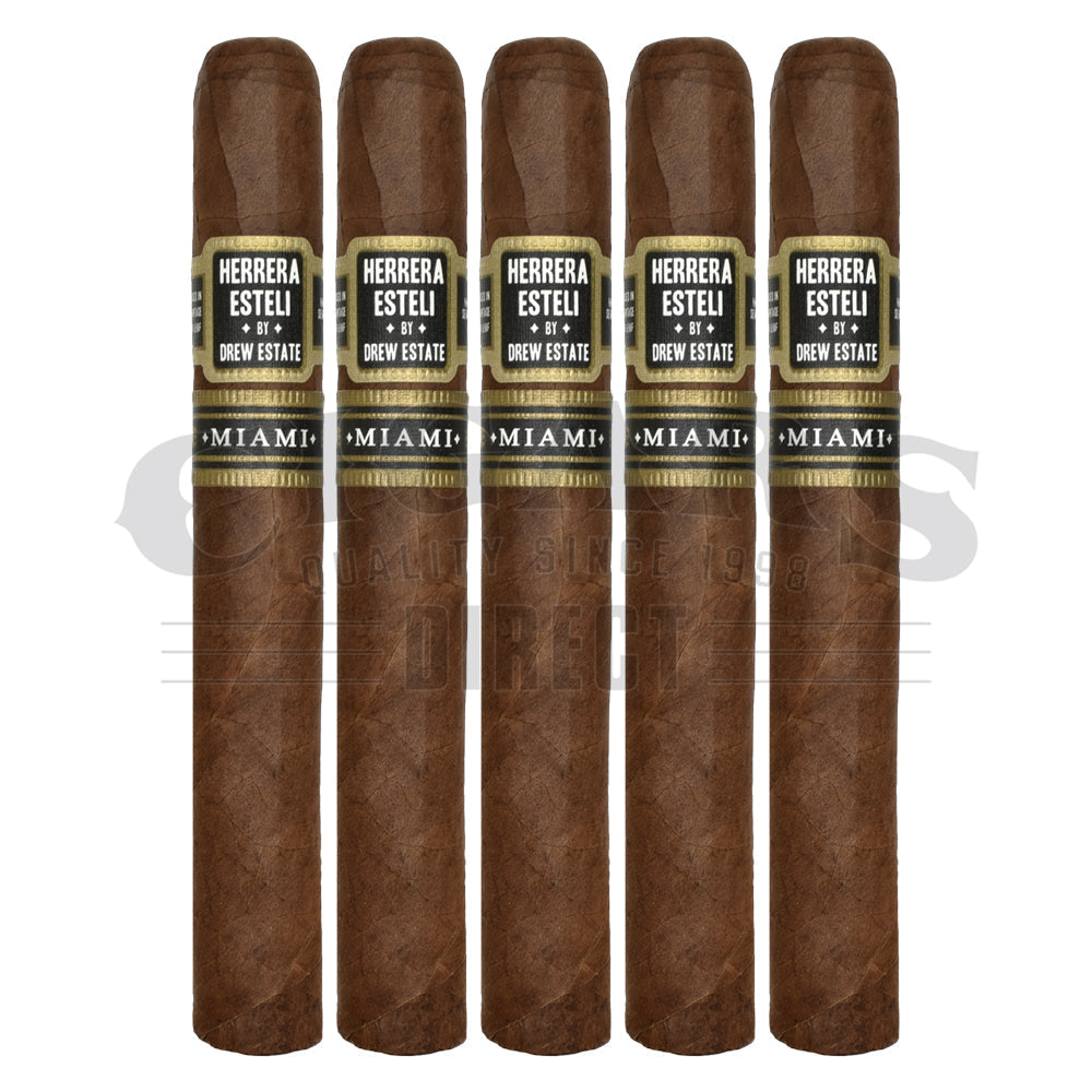 Herrera Esteli By Drew Estate Miami Toro Especial 5 Pack