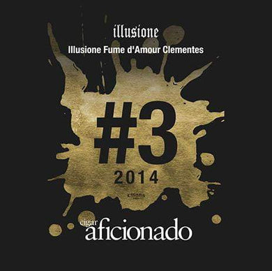 Illusione Fume D'Amour Clementes 2014 No.3 Cigar of the Year