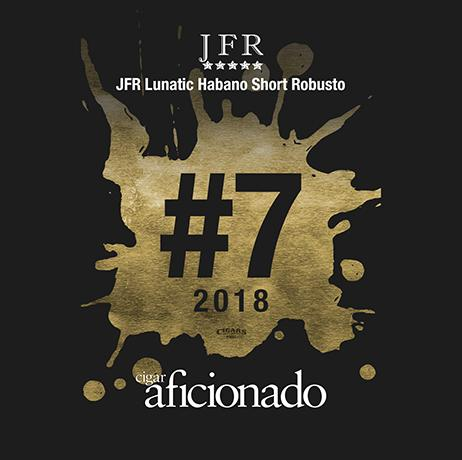 Load image into Gallery viewer, 2018 No.7 Cigar of the Year JFR Lunatic Habano Short Robusto