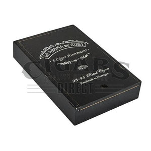 La Aroma de Cuba 5 Cigar Assortment Sampler Box Closed