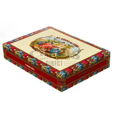 La Aroma de Cuba Original Churchill Box Closed
