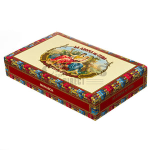 La Aroma de Cuba Original Monarch Box Closed