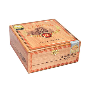 La Aurora 107 Robusto Closed Box