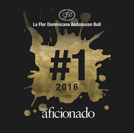 Load image into Gallery viewer, La Flor Dominicana Andalusian Bull 2016 No.1 Cigar of The Year