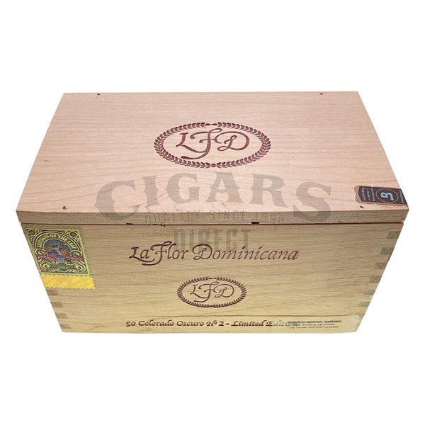 Load image into Gallery viewer, La Flor Dominicana Colorado Oscuro No. 2 Corona Box Closed