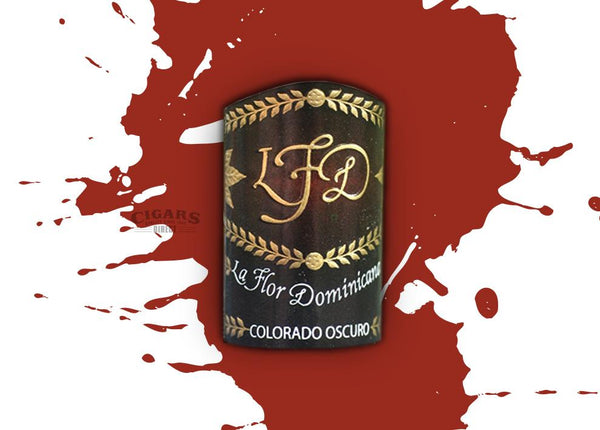 Load image into Gallery viewer, La Flor Dominicana Colorado Oscuro No. 2 Corona Band