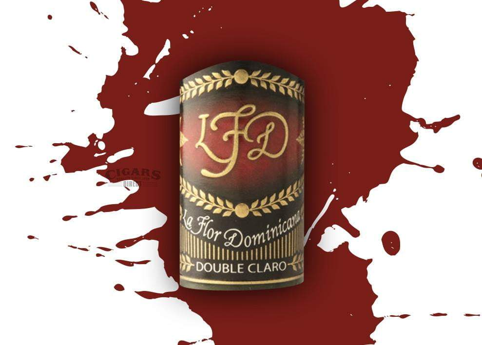 La Flor Dominicana Double Claro No 50 Band