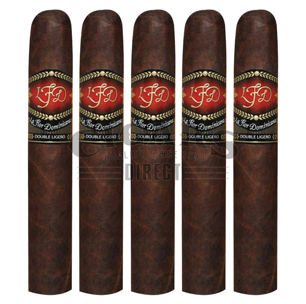 Load image into Gallery viewer, La Flor Dominicana Double Ligero 600 Habano Maduro 5 Pack
