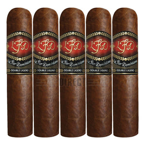 La Flor Dominicana Double Ligero 660 5 Pack