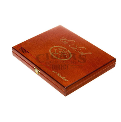 La Flor Dominicana Double Ligero Chisel Maduro Box Closed