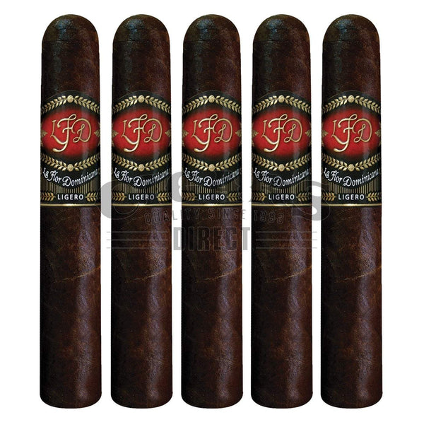 Load image into Gallery viewer, La Flor Dominicana Ligero Cabinet L-250 Oscuro 5 Pack
