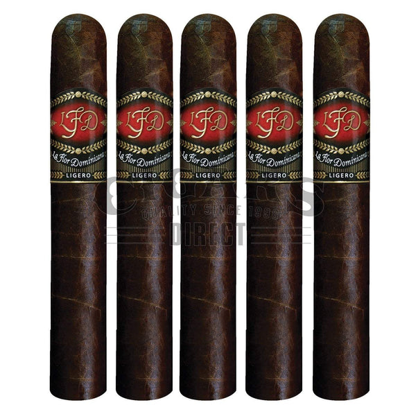 Load image into Gallery viewer, La Flor Dominicana Ligero Cabinet L-400 Oscuro 5 Pack