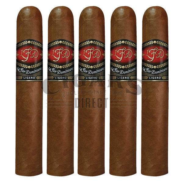 Load image into Gallery viewer, La Flor Dominicana Ligero L-500 5 Pack