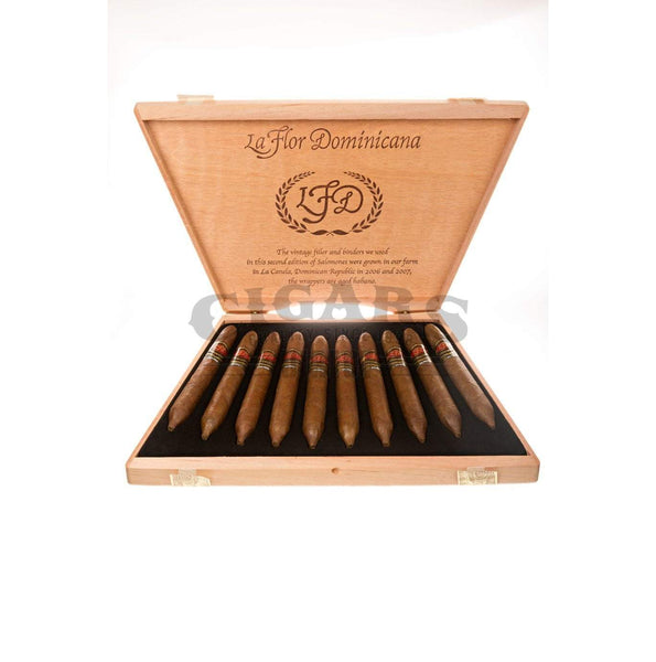 Load image into Gallery viewer, La Flor Dominicana Limited Production Salomones Box Open