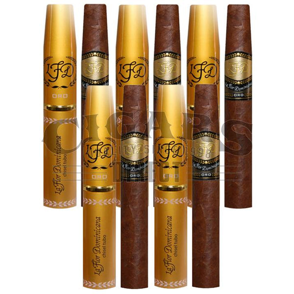 Load image into Gallery viewer, La Flor Dominicana Oro Chisel Tubo