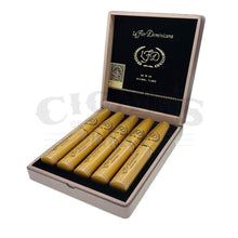 Load image into Gallery viewer, La Flor Dominicana Oro Chisel Tubo Box Open