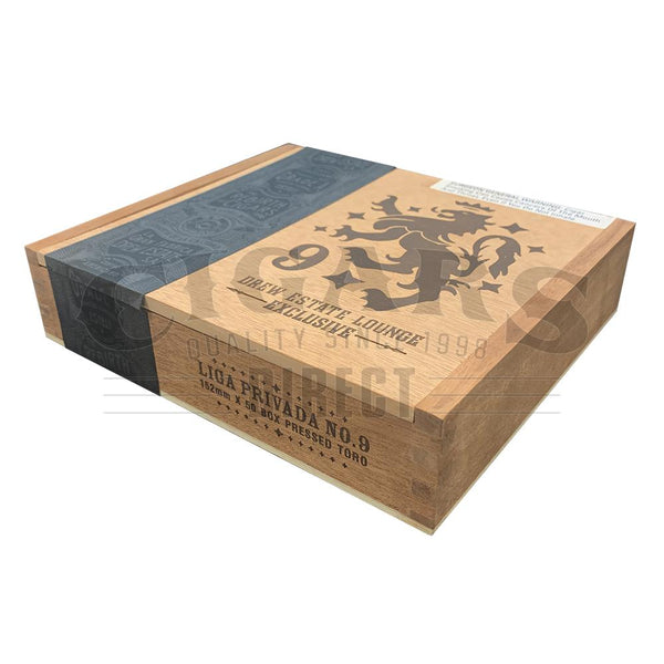 Load image into Gallery viewer, Drew Estate Liga Privada No.9 Box Pressed Toro Exclusive Box Closed