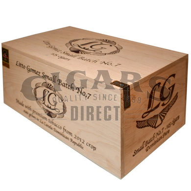 Litto Gomez Diez Small Batch No.7 Box Closed