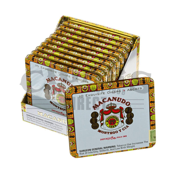 Load image into Gallery viewer, Macanudo Cafe Ascots 10 Tins