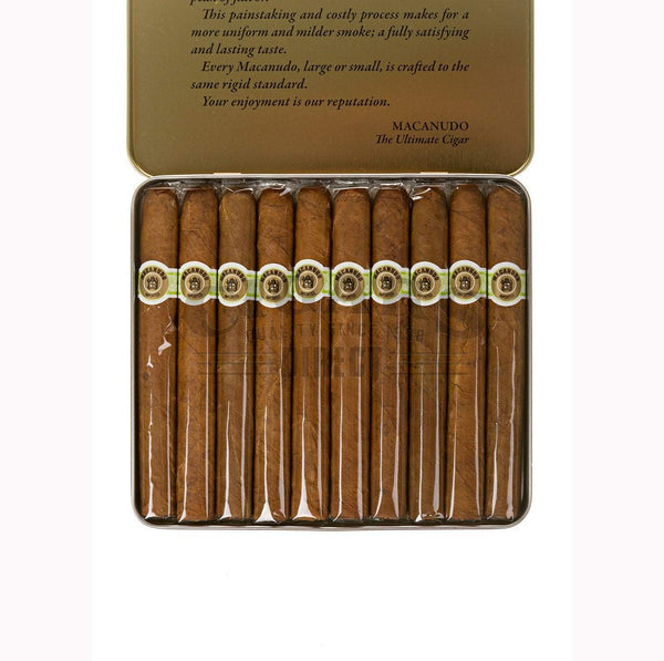 Load image into Gallery viewer, Macanudo Cafe Ascots Single Tin