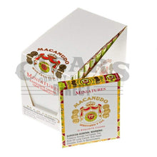 Load image into Gallery viewer, Macanudo Cafe Miniatures Box Closed