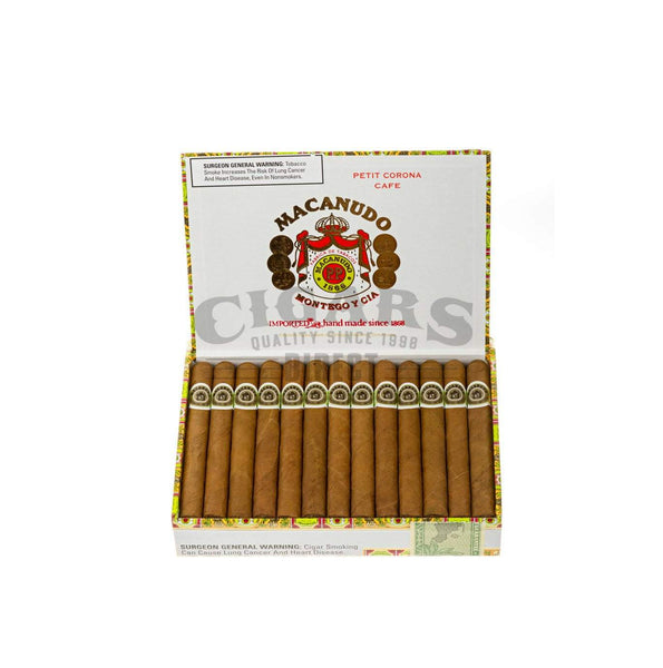 Load image into Gallery viewer, Macanudo Cafe Petit Corona Box Open