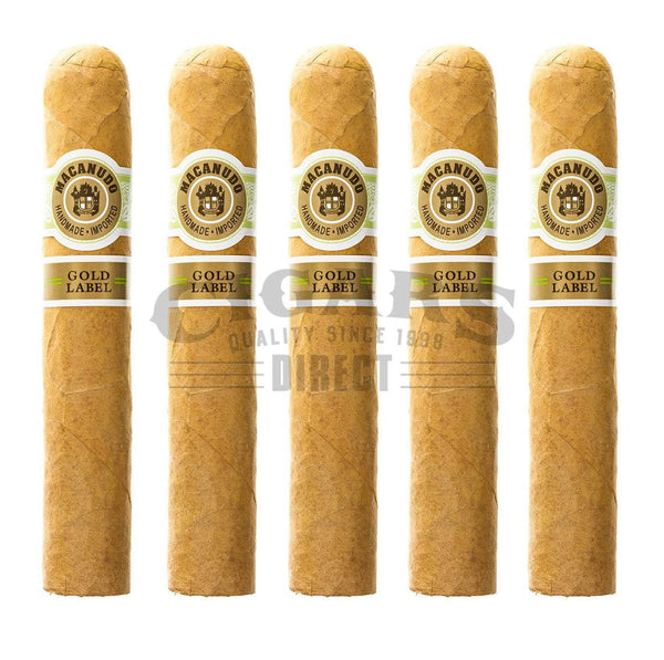 Load image into Gallery viewer, Macanudo Gold Label Duke Of York 5 Pack