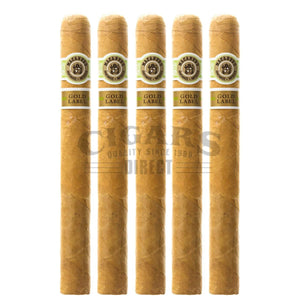 Macanudo Gold Label Shakespeare 5 Pack