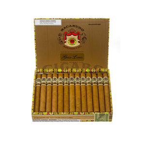 Macanudo Gold Label Shakespeare Box Open