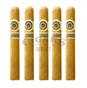 Macanudo Gold Label Tudor 5 Pack