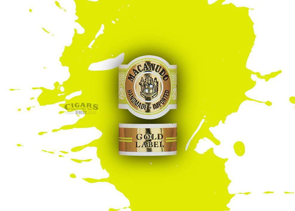 Load image into Gallery viewer, Macanudo Gold Label Tudor Band