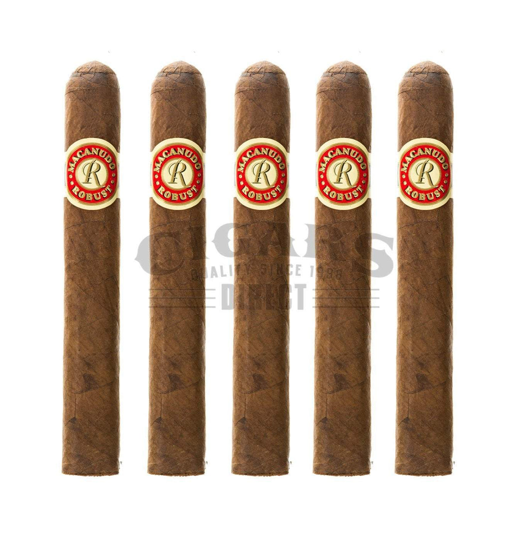 Macanudo Robust Hyde Park 5 Pack
