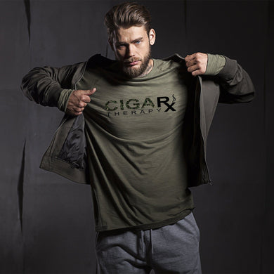 Camouflage Cigarx Men's Crew Neck T-Shirt