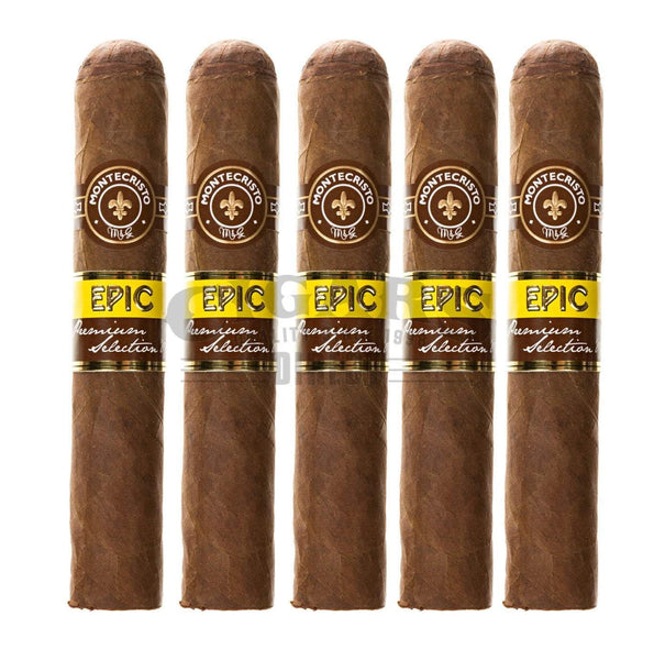 Load image into Gallery viewer, Montecristo Epic Robusto 5 Pack