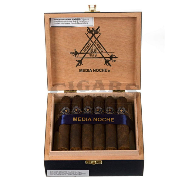 Load image into Gallery viewer, Montecristo Media Noche Edmundo Box Open