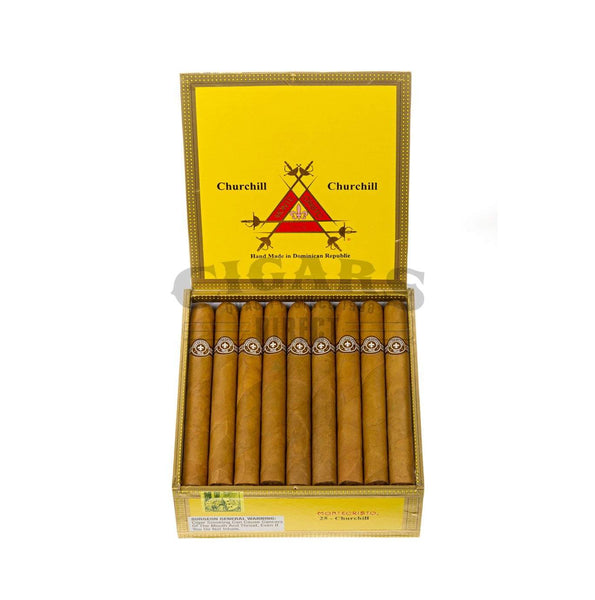 Load image into Gallery viewer, Montecristo Original Churchill Box Open