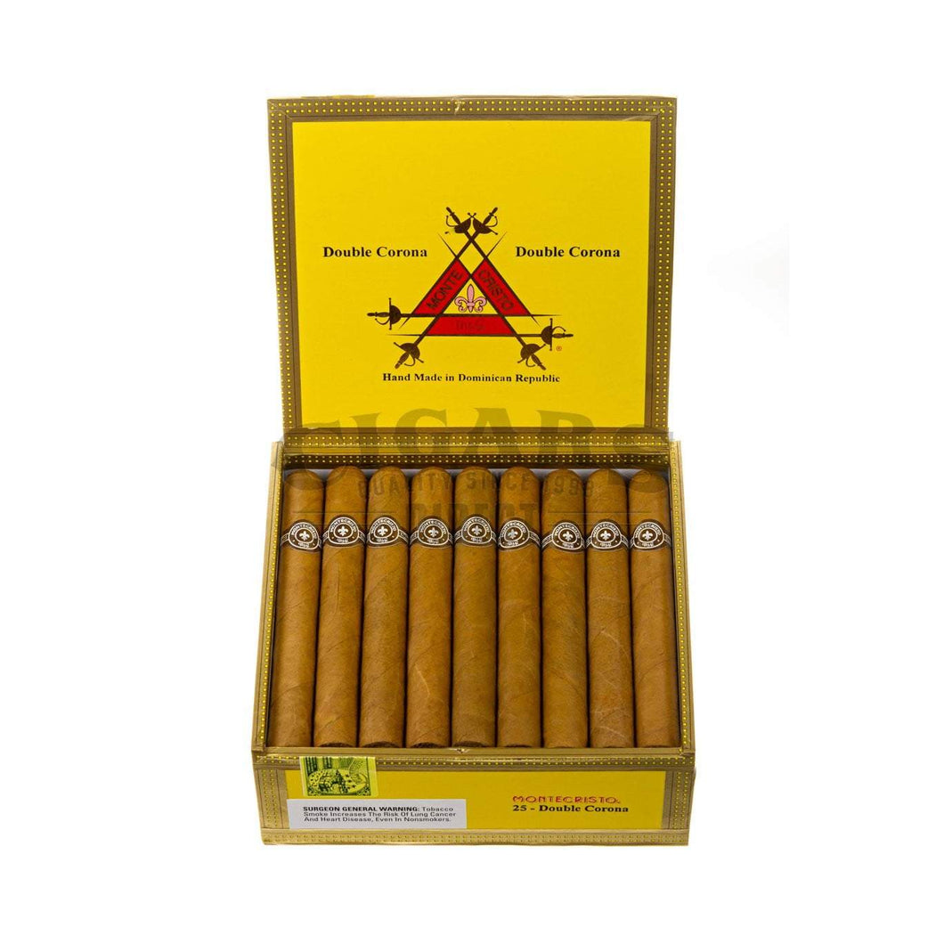 Montecristo Original Double Corona Box Open