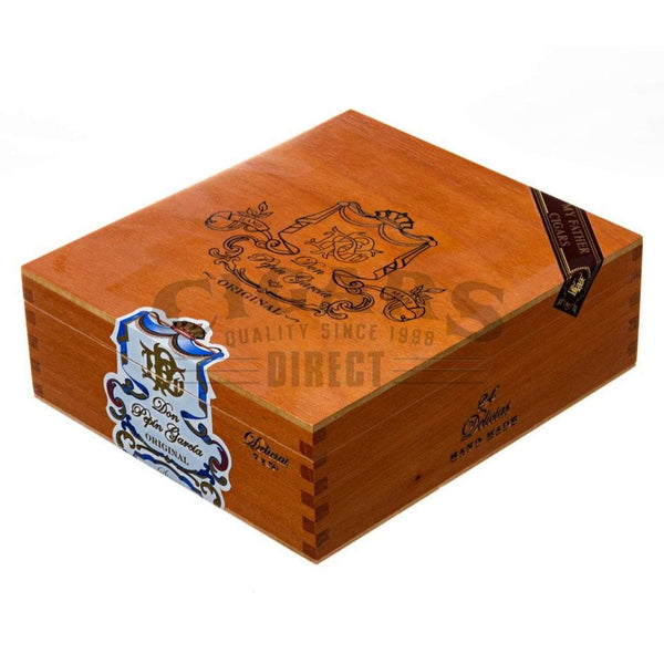 Load image into Gallery viewer, My Father Cigars Don Pepin Garcia Blue Delicias Churchill Box Closed
