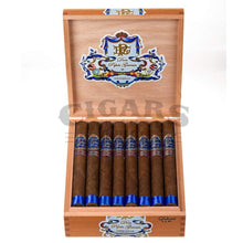 Load image into Gallery viewer, My Father Cigars Don Pepin Garcia Blue Delicias Churchill Box Open