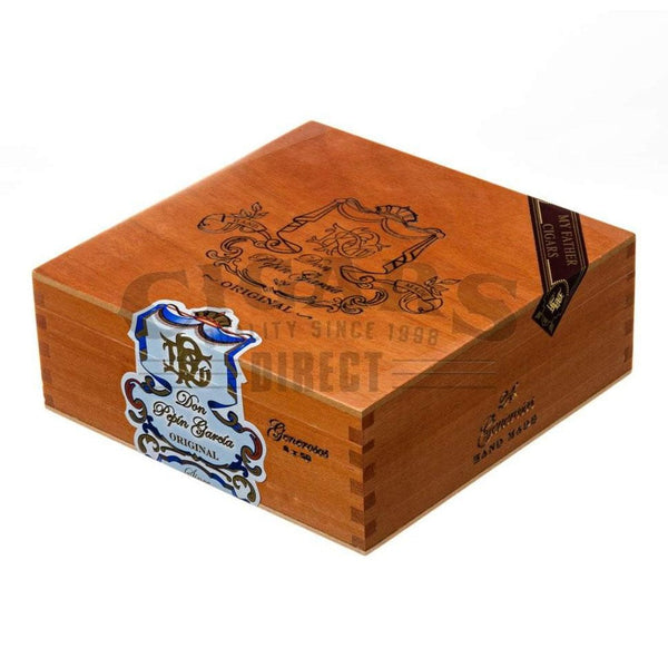 Load image into Gallery viewer, My Father Cigars Don Pepin Garcia Blue Generosos Toro Box Closed