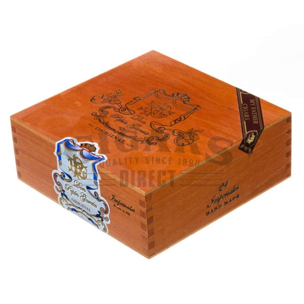 My Father Don Pepin Garcia Blue Imperiales Torpedo Box Closed
