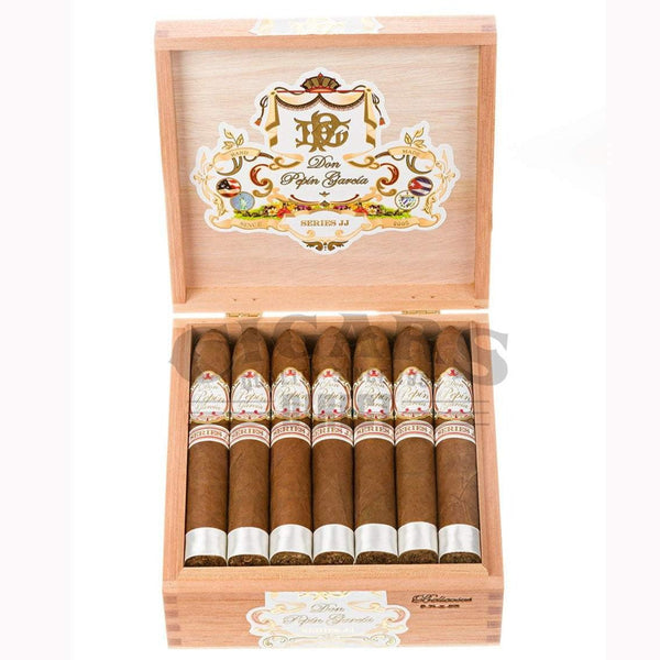 Load image into Gallery viewer, My Father Cigars Don Pepin Garcia Series Jj Belicoso Box Open