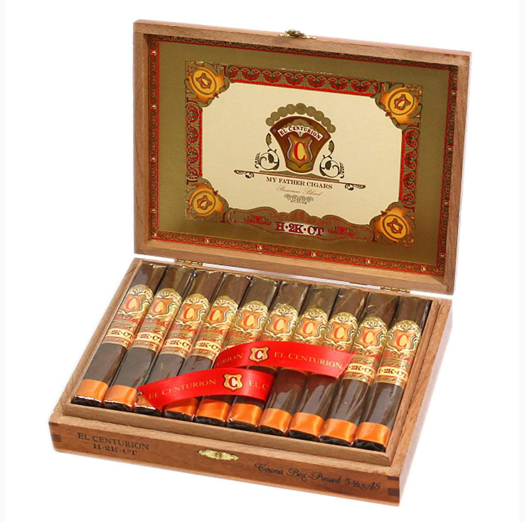 My Father Cigars El Centurion H 2K Ct Toro Box Open