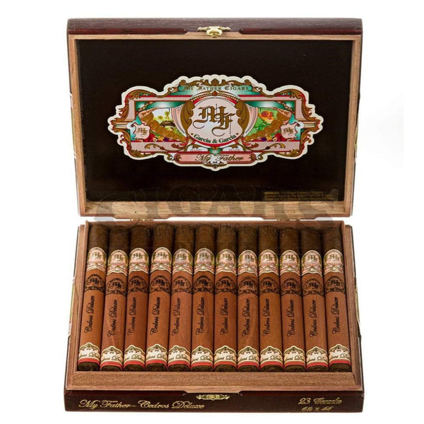 Load image into Gallery viewer, My Father Cigars My Father Cedro Deluxe Eminentes Box Open